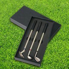 Długopisy golfisty - dla gentelmana  #długopis #golf #praca #biuro
