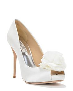 bfee73e8128d Amber Silk Ruffle Evening Shoe Bridal Outfits