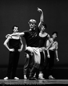 Mikhail Baryshnikov- one of the most amazing dancers ever