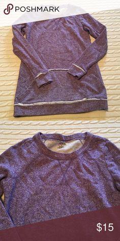 Purple sweatshirt Great condition- no signs of wear bcg Tops Sweatshirts & Hoodies
