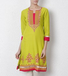 Wine Cotton Silk Kurta