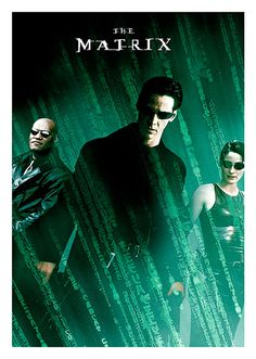 The Matrix Movie Poster, available at 45x32cm.This poster is printed on matt coated 350 gram paper.