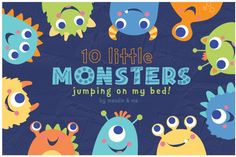 10-Little-Monsters-by-maudie-and-ma