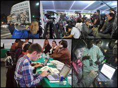 Fotos: Darío Dávila. Una mirada a la cobertura de las elecciones por parte de los medios mexicanos