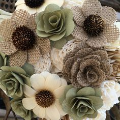 Wish they would have been around before I got married! Love this alternative to real flowers for a wedding! Ecoflower.com