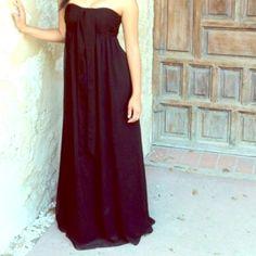 Formal Dress Simple and beautiful black dress. White House Black Market Dresses