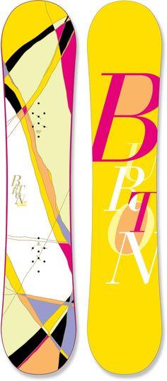 Sweet snowboard
