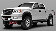 Rancho Suspension: 2004 - 2008 Ford F150 4WD - 4-in. Lift