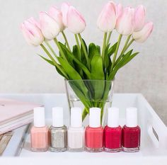 Flowers and essie: a
