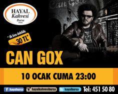 Can Gox - 10 Ocak Cuma - Hayal Bursa