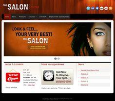 The Salon Responsive Hair Salon Spa WordPress Theme