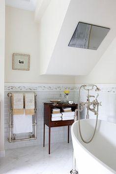 Sarah Richardson Design - London Flat (Master Bathroom) PMs - Kate Stuart and Tommy Smythe