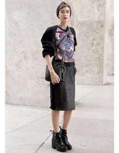 Les boots - Street Style Fashion Week : les 14 nouveaux mix mode - Elle