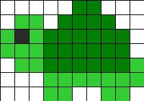 Tortoise Turtle Perler Bead Pattern / Bead Sprite