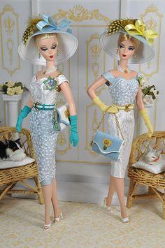 Vintage Barbies. :)