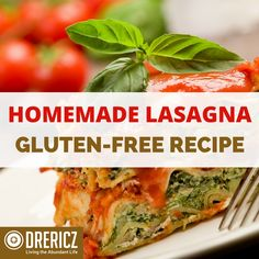 One of my most requested recipes is my Homemade Gluten-Free Lasagna. I love sharing this dish with family and friends.