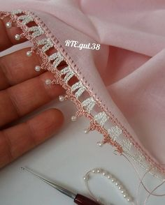 Ideal Origami Document Origami is one involving the most delicate kinds of art there is definitely. Crochet Lace Edging, Crochet Borders, Filet Crochet, Crochet Patterns, Crochet Shoes, Crochet Baby Booties, Bead Crochet, Origami Tattoo, Origami Fashion