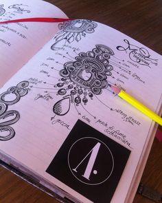 Adel's Laboratory: matita e carta Shibori, Diy Body Chain, Soutache Jewelry, Beaded Jewellery, Bridal Jewelry, Soutache Tutorial, Jewel Tattoo, Jewelry Scale, Maggam Work Designs