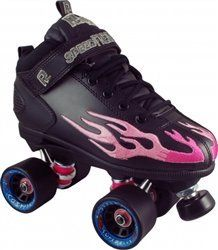 Skate Out Loud Rock Flame Roller Skate With Cosmic Fly Wheels Bearing Color Rainbow Varies by Wheel Color and Size by Skate Out Loud. $140.00. Wheels: Cosmic Super Fly. Boot: Rock Flame. Plate: Rock Nylon. Bearings: Sonic. The Sure Grip Rock Flame speed ,roller skate features deluxe ,synthetic leather uppers. Cambrelle lining,comfort padded collar,cushioned ,contour insole with Rock nylon plates and trucks. Cosmic Super Fly quad speed ,skate wheels made from high qu...