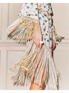 Prettiest Instagrams of the Week: A fringe dress that's just made for twirling on the beach, Talitha spring 2016 fashion collection | allure.com