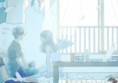 The place for melancholic anime pictures Anime Couples Drawings, Couple Drawings, Cute Anime Couples, Anime City, Cute Couple Art, Sad Art, Anime Artwork, Anime Scenery, Anime Love
