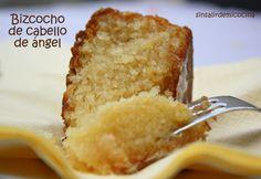 SIN SALIR DE MI COCINA: BIZCOCHO DE CABELLO DE ANGEL