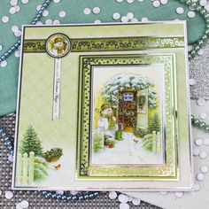 Card created using Hunkydory Crafts' A Friend Like No Other Topper Set from the White Christmas Topper Collection Dyi Christmas Cards, Christmas Topper, Christmas Paper Crafts, Christmas Train, Christmas Scenes, Christmas Stuff, White Christmas, Christmas Ideas, Crafters Companion Christmas Cards