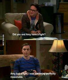 Big Bang Theory. Thanks Sheldon, I'm going to use that line!