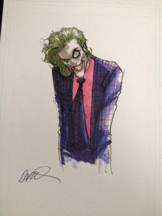 The Joker by Humberto Ramos