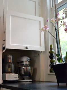 A clever way to hide appliances