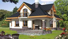 House Plans Mansion, Sims House Plans, Dream House Plans, House Floor Plans, Modern Bungalow House, Bungalow House Plans, Modern House Design, Style At Home, Architect Design House