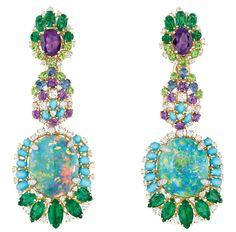 Dior Bouquet d'Opales earrings
