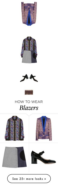 """""""Calm & Collected"""" by zille on Polyvore featuring Emilio Pucci, dVb Victoria Beckham, Gianvito Rossi, Haider Ackermann and Chanel"""