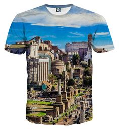 Rome Italy The Roman Forum Ancient Architect Vibrant T-Shirt  Rome  Italy   8e92d08283e0