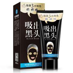Face Care Black Mask Blackhead Facial Mask Shrink Pores Mascara Nose Black Head Peel Off Remover