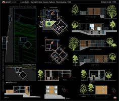 Fisher House Autocad dwg