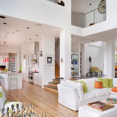 Open Plan House Designs, obviously not even nearly as big as the picture, just the open layout/ loft