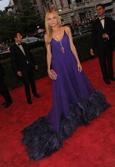 Diane Kruger in Prada at the 2012 Met Costume Gala, May 7th