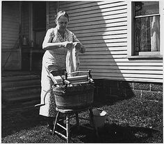 The Great Depression: Wash Day
