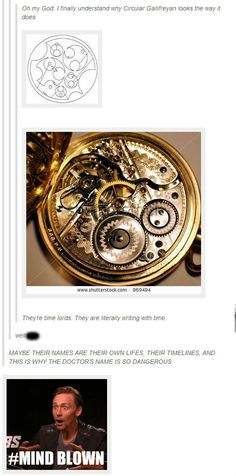 The previous pinner's comment made me wonder if perhaps the number of hours on a clock (12) has something to do with the number of regenerations Timelords are supposed to have (also 12).