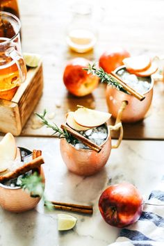 Fall-inspired Moscow Mule recipe