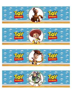 In the first months, your baby will prefer the toys he can watch and listen to the most, and the … Fête Toy Story, Bolo Toy Story, Toy Story Theme, Toy Story Birthday, Toy Story Party, Birthday Diy, Toddler Toys, Baby Toys, Desenho Toy Story