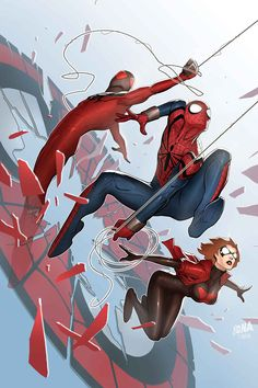 Scarlet Spiders (Spider-verse) (also, yay, the return of Ben Reilly!)