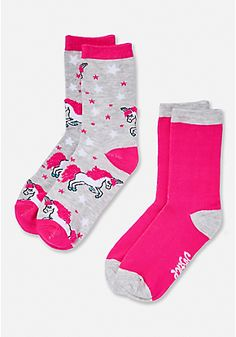 Unicorn Socks 2-Pack