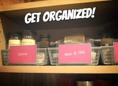 Messy #pantry? Get organized with some easy #DIY tricks!