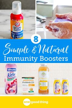 Don't risk getting sick this cold and flu season. To protect yourself, try adding these easy & natural immunity boosters that really work. #immunity #coldandfluseason