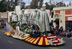 2018 Rose Parade - Freedom Is Not Free