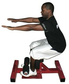 Adjustable Sissy Squat Station -- Legend Fitness (3162)