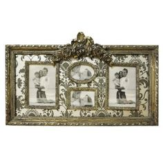 Vintage Look Shabby Chic Silver Multi Photo Frame:Amazon:Kitchen & Home