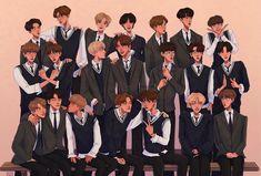 Pretty Art, Cute Art, Iphone Wallpaper Vsco, Valentines For Boys, Boys Like, Kpop Fanart, Boy Art, K Idols, Jaehyun